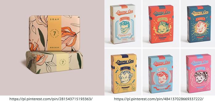 Classy Vintage Packaging